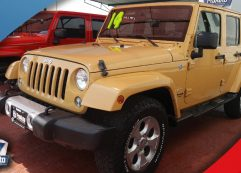 Jeep Wrangler Sahara Unlimited 2014 Beige