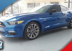 Ford Mustang GT 2017 Azul electro