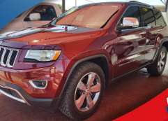 Jeep Grand Cherokee Limited 2016 rojo