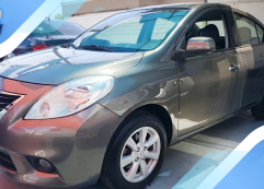 Nissan Versa Exclusive 2013 Brownish