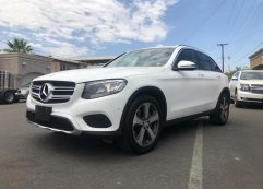 MERCEDES GLC 300 2016 blanco