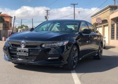 Honda Accord Touring 2019 Negro