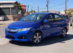 Honda CITY Ex 2017 Azul
